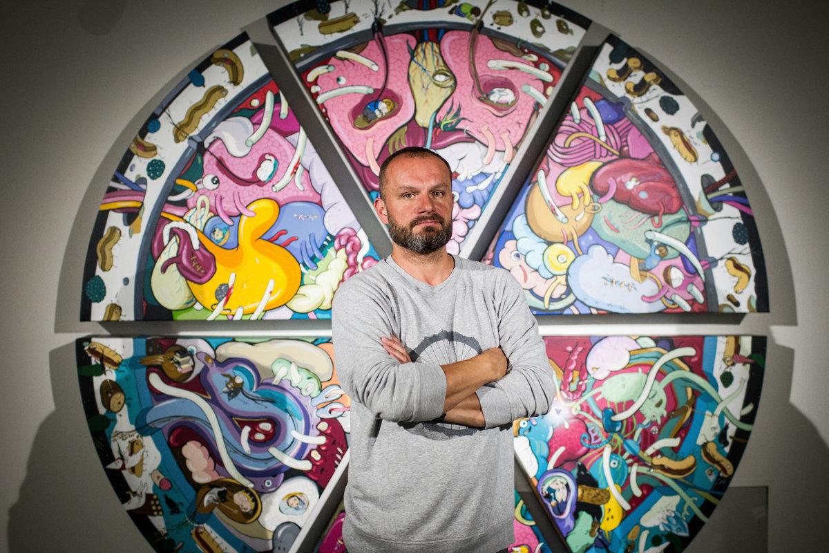 Erik Šille: Chcel som pôsobiť ako reklamný pútač. Ako blikajúci obrázok FORBES